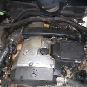 مرسيدس عيون محرك 111محرك اربعة 4بسطوني
