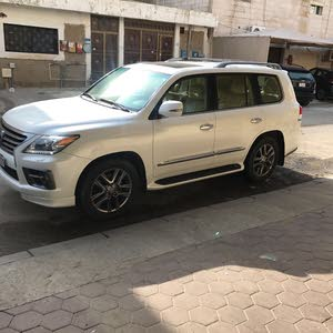 km mileage Lexus LX for sale