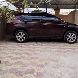 Used condition Lexus RX 2007 with +200,000 km mileage