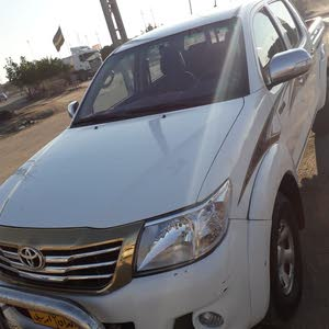 2013 Used Hilux with Manual transmission is available for sale