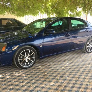 Blue Mitsubishi Galant 2010 for sale