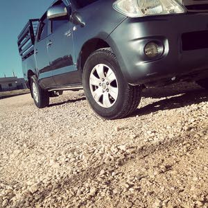 Used condition Toyota Hilux 2011 with +200,000 km mileage