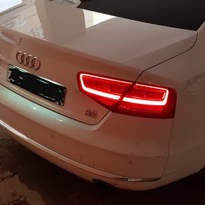 Audi A8 2012 For sale - White color