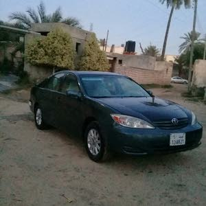 Green Toyota Camry 2003 for sale