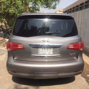 Automatic Grey Infiniti 2013 for sale