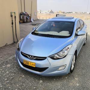 Gasoline Fuel/Power   Hyundai Elantra 2012
