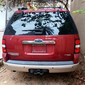 Red Ford Explorer 2008 for sale