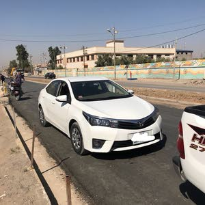 Toyota Corolla 2015 For sale - White color