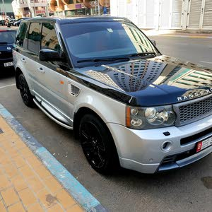 range rover sport supercharged, 2009, two colours, modified,
