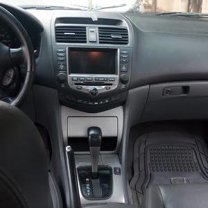 سيارة هوندا أكورد 2007 بحاله ممتازة للبيع ( فل أوبشن )