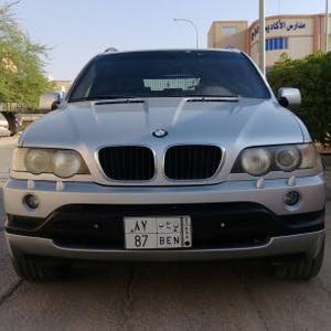 BMW X5 2003 For sale - Silver color