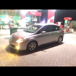 km mileage Nissan Tiida for sale