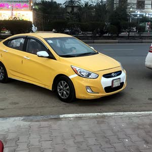 Hyundai Accent 2012 For sale - Yellow color
