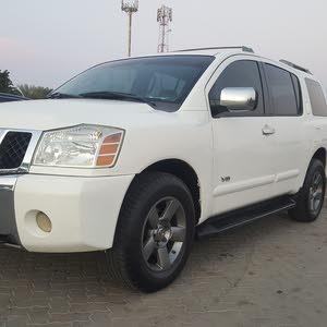 White Nissan Armada 2005 for sale