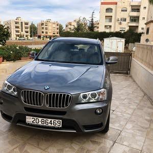 BMW X3 car for sale 2014 in Amman city