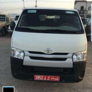 Gasoline Fuel/Power   Toyota Hiace 2014