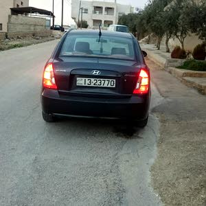Used condition Hyundai Accent 2006 with +200,000 km mileage