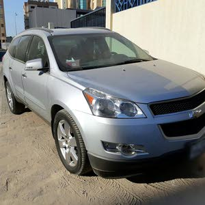 Silver Chevrolet Traverse 2012 for sale