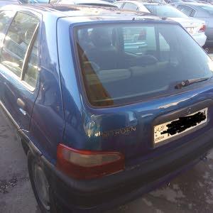 سيارة للبيع نوع ستروين ساكسو  موديل 2001 اوتوماتيك