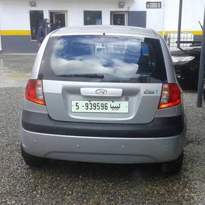 Silver Hyundai Getz 2009 for sale