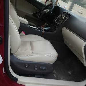 Gasoline Fuel/Power   Lexus IS 2012