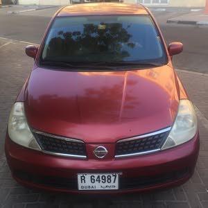 Nissan Tiida 2008 Urgent sale price 10000 AED single owner