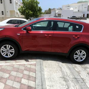 Red Kia Sportage 2017 for sale