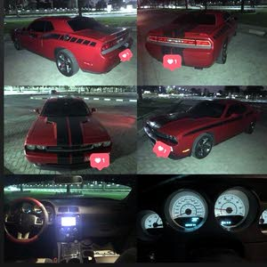 For sale Dodge Challenger car in Sharjah