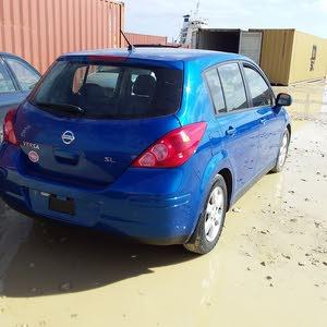 Blue Nissan Tiida 2008 for sale