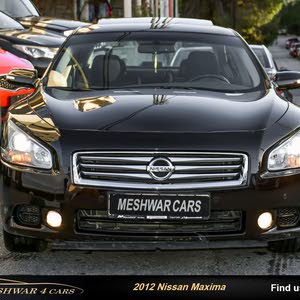 Available for sale! 1 - 9,999 km mileage Nissan Maxima 2012