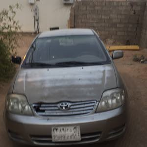 Gasoline Fuel/Power   Toyota Corolla 2004