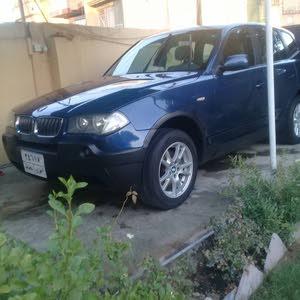 BMW X3 2004 For sale - Blue color