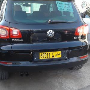 Black Volkswagen Tiguan 2009 for sale