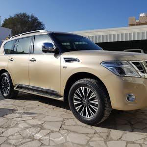 Nissan Patrol 2015 For sale - Gold color