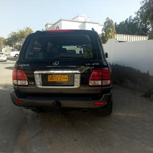 Black Lexus LX 2006 for sale