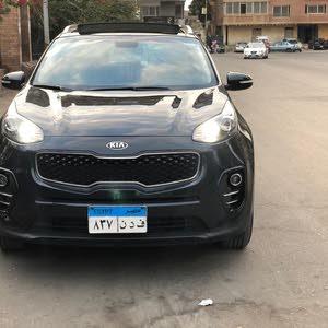 For sale Kia Sportage car in Cairo