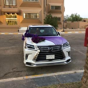 km Lexus LX 2017 for sale