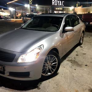 Infiniti G35 2008 For sale - Silver color