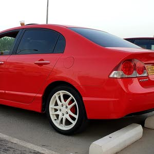 Honda civic 2006 red