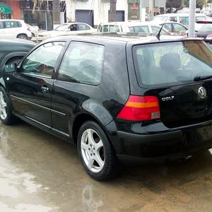 Black Volkswagen Golf 2001 for sale