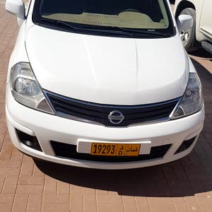 Nissan Tiida 2012 For sale - White color