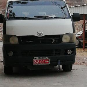 Available for sale! 0 km mileage Toyota Hiace 2007