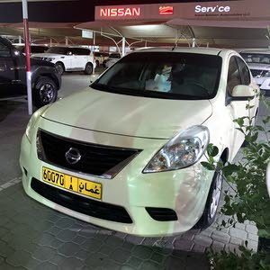 Beige Nissan Sunny 2014 for sale