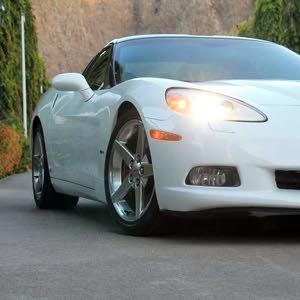 For sale 2007 White Corvette