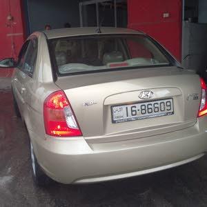 Hyundai Accent 2009 For sale - Beige color
