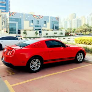 Mustang V6 Red 2012 In Good Condition for Sale
