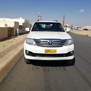 Toyota Fortuner 2012 For sale - White color