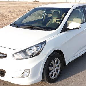 هيونداي اكسنت موديل 2014خليجي وكالة عمان 1600سي سي فول اتومتك شبه جديده إستخدام