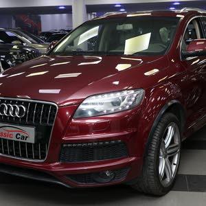 Gasoline Fuel/Power   Audi Q7 2014