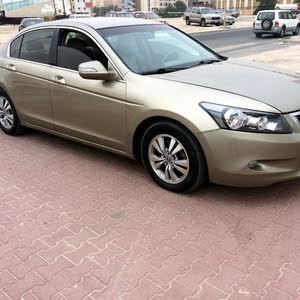 Beige Honda Accord 2008 for sale